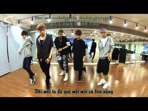 [Vietsub.Kara.Hangul] EXO Growl - Dance Only (Korean ver )[EXOVIETNAM.COM]