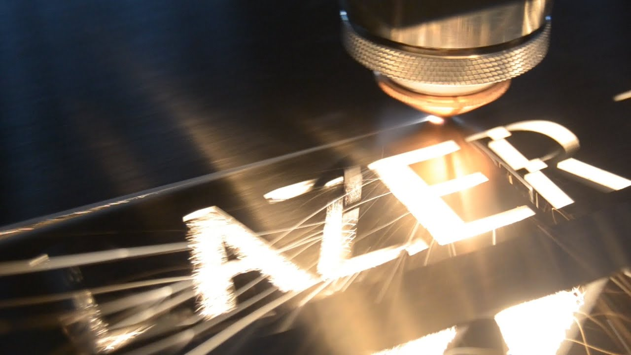 fibra optica laser de corte, maquina laser de fibra optica en colombia y  ecuador - YouTube