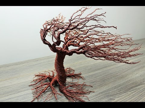 How to make Autumn Wind Blow Wire Tree