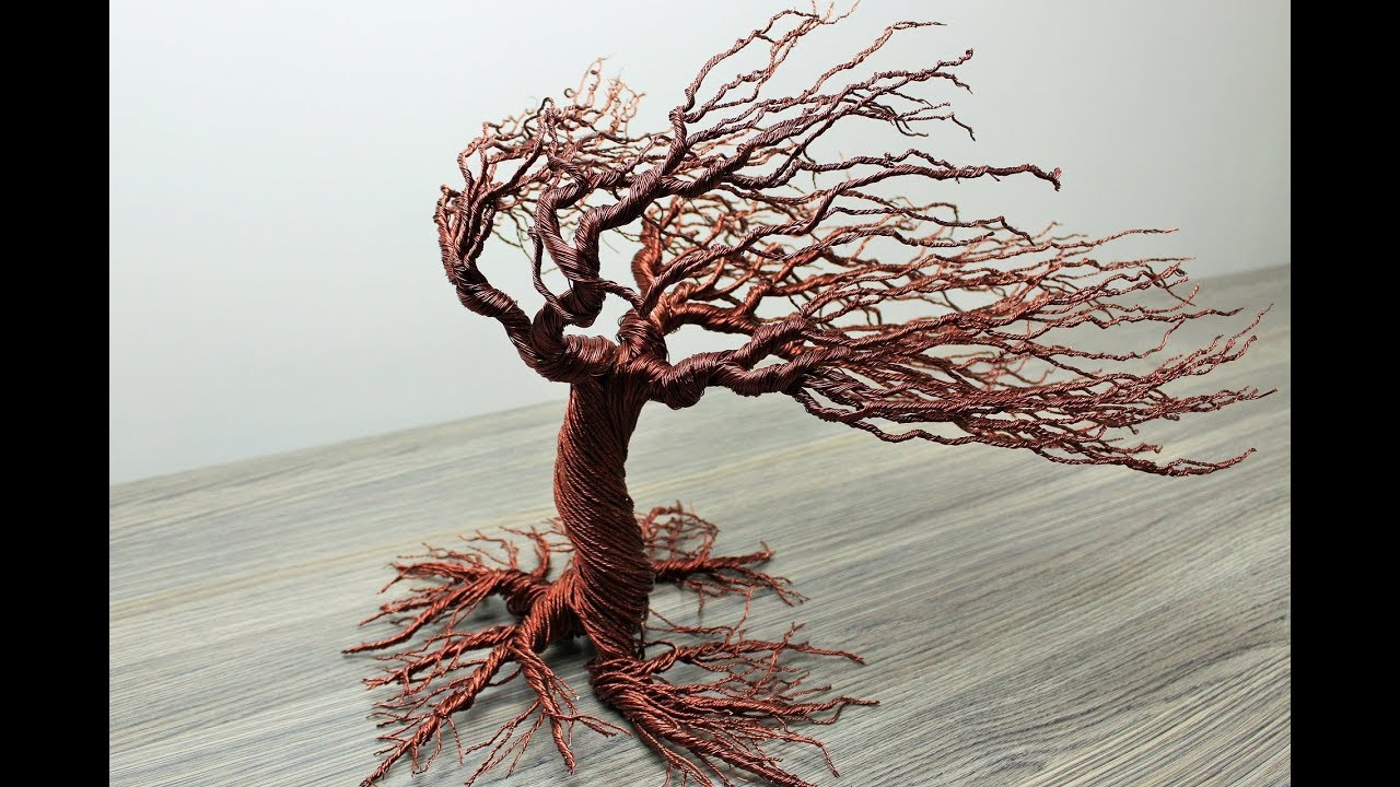 How To Make Autumn Wind Blow Wire Tree Youtube