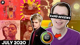 RAPID REVIEWS Gerard Way, Billie Eilish, Movements, Eminem, Bastille, Maroon 5, YUNGBLUD | July 2020