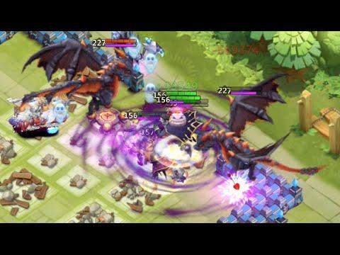 Castle Clash: HBM Wave T Victory Without A Moltanica!!