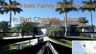 3-bed 3-bath Family Home for Sale in Port Charlotte, Florida on florida-magic.com