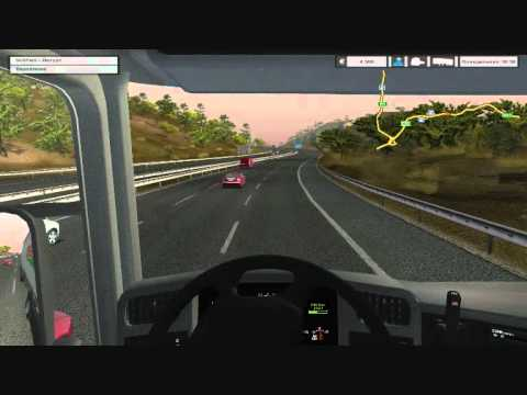 Гонки на Skoda Superb ІІ  - Euro Truck Simulator 2 Multiplayer