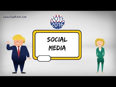 Donald Trump vs Hillary Clinton – Who was better at Social Media Marketing?