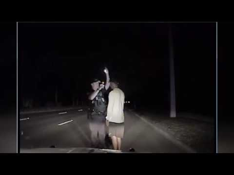 Tiger Woods Arrest Video Via Police Dashcam