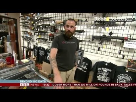 Gunshop owner confronts BBC liberal, I know exactly what you are trying to do