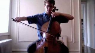 POPPER PROJECT #21: Joshua Roman plays Etude no. 21 for cello by David Popper