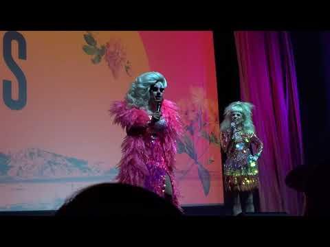 Trixie & Katya Banter At Shady Queens