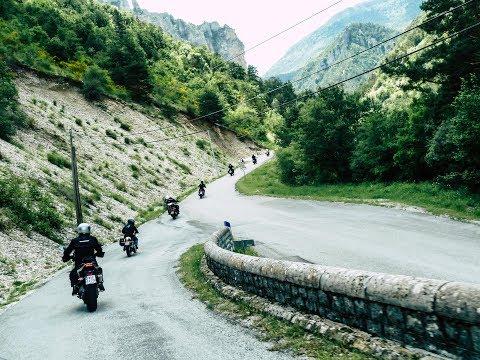 Triumph Alps Provence Côte d'Azur Motorcycle Trip 2018