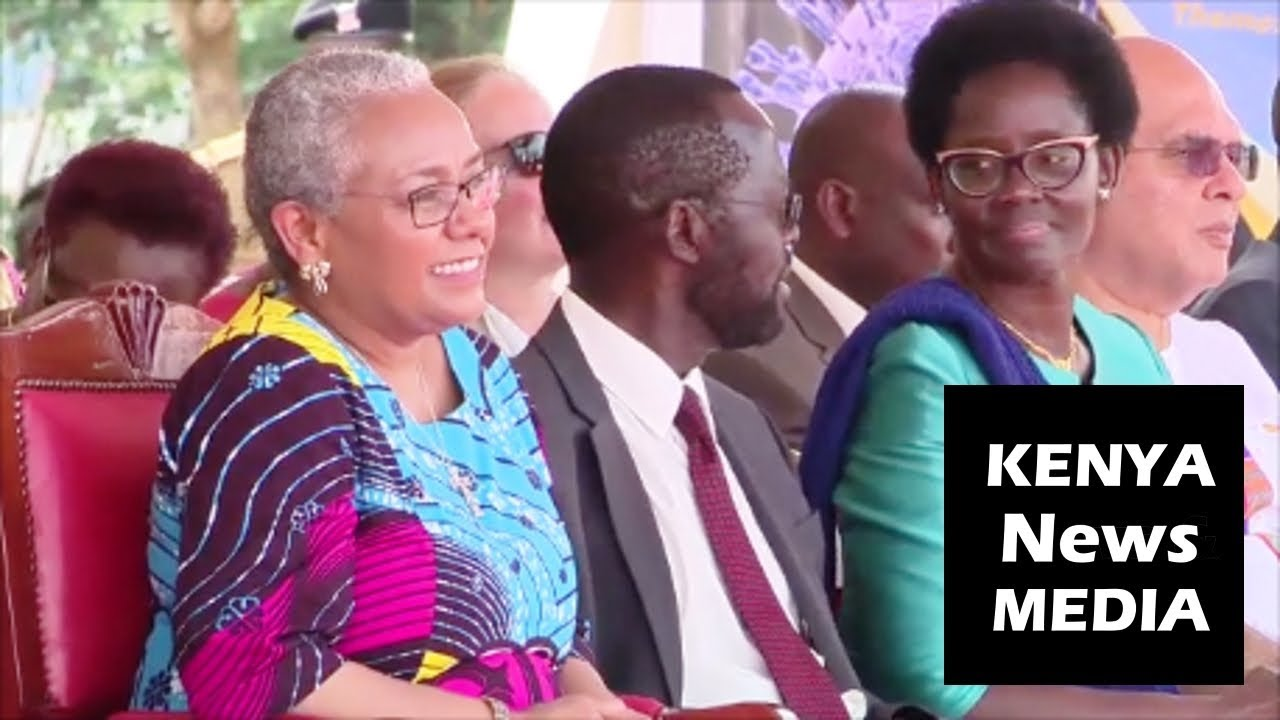 Beyond Zero Medical Safari in Kisumu LAUNCH Entertainment for GUEST Margaret Kenyatta!!!