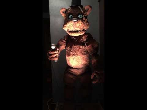 REAL Freddy Fazbear - Five Nights at Freddy's video - Fanpop
