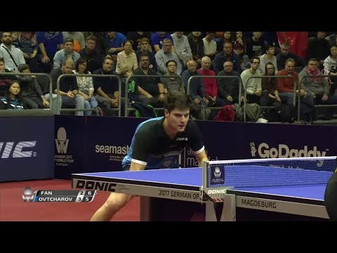 2017 German Open (ΜS-SF) FAN Zhendong Vs OVTCHAROV Dimitrii