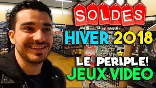 LES SOLDES D'HIVER JEUX VIDEO 2018 ! [Le Périple LIVE!] - 3DS, WII U, Xbox One à Prix FOUS!