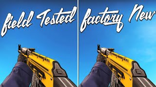 CS:GO - 10 Field Tested Skins That Look Factory New