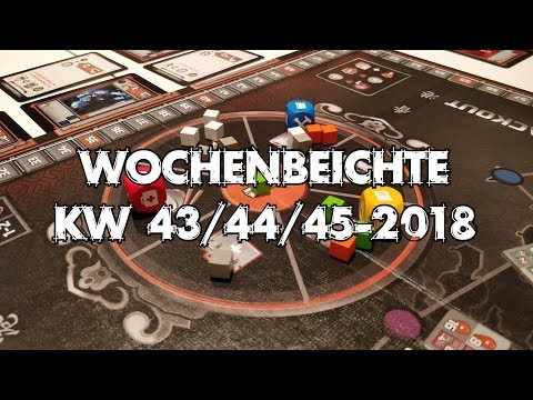 Teotihuacan, Meeple Circus, Blackout Hong Kong u.v.m. - Wochenbeichte #22 (KW 43-45/2018)