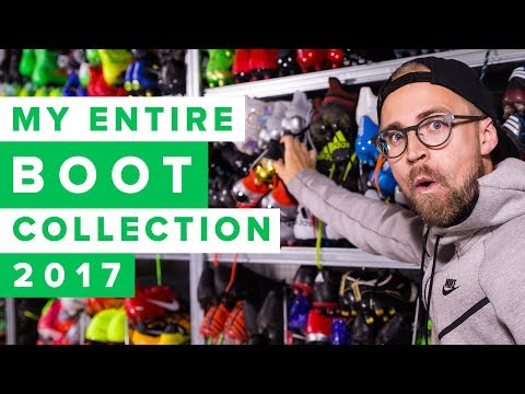 My football boot collection 2017 explained | the ultimate boot nerd video