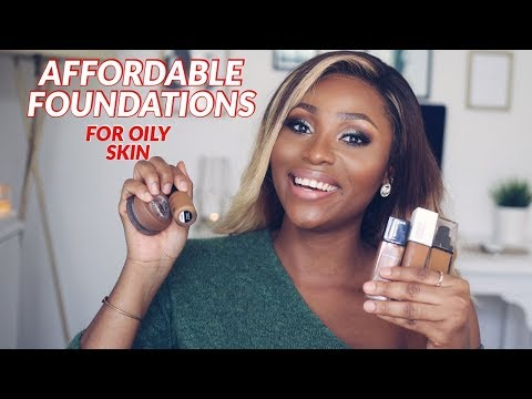 DON'T WASTE YOUR MONEY - BEST AFFORDABLE FOUNDATIONS FOR OILY SKIN    DIMMA UMEH