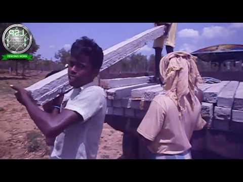 TATA WIRE FENCING CONTRACTORS|WORKS IN KARAIKAL|TAMILNADU|INDIA|LSP FENCING