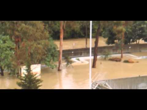 Потоп в Сочи 25.06.2015 Затопило Орел Изумруд, ул  Гастелло