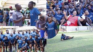 Celebrities Vrs Bloggers Football Match - Yaw Dabo, LilWin, Dumelo, Countryman Songo, Others