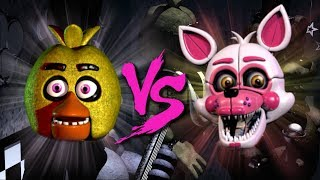 CHICA VS FUNTIME FOXY ⭐️ La Liga de FNAF | FNAF ULTIMATE CUSTOM NIGHT - Octavos de Final
