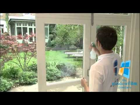 Decorating smart glass windows cost : How to Apply Smart Frosted Glass - YouTube