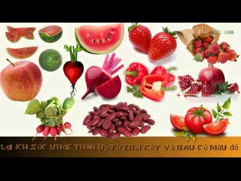 Lợi ích sức khỏe thần kỳ từ trái cây, rau củ màu đỏ