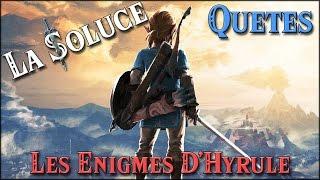 Les Enigmes D Hyrule Quetes Zelda Botw Youtube