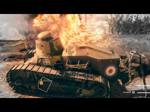 BATTLEFIELD 1 GAMEPLAY MULTIPLAYER TANK BF1 Gameplay E3 2016 EA play