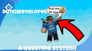 ROBLOX | How to make a questing system!