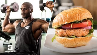 Beastly Shoulder Workout & Salmon Burger Recipe   Everyday Beast