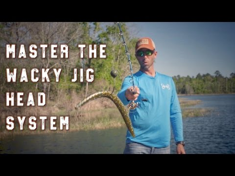 Simple Wacky Jighead Bass Fishing System