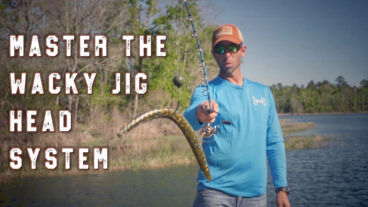 Simple Wacky Jighead Bass Fishing System