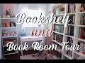 Book Room + Bookshelf Tour 2019✨