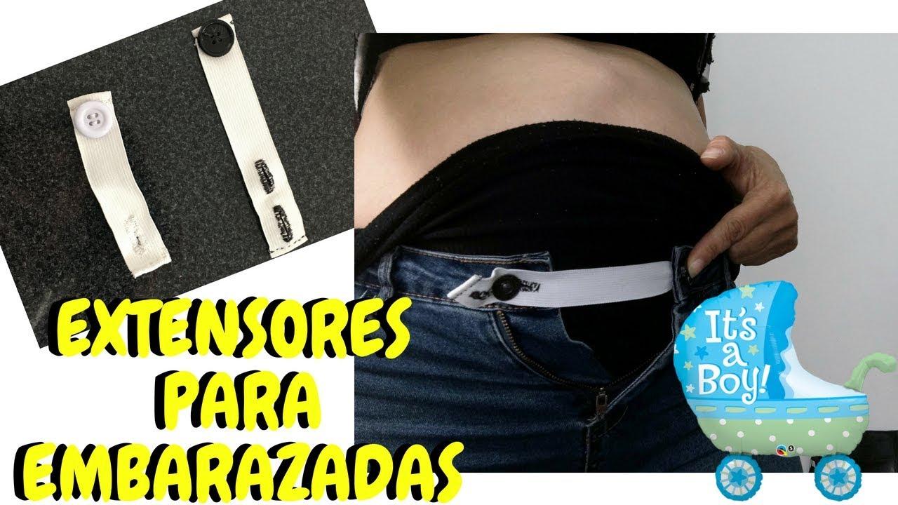 777fdeeff Como hacer extensores para pantalones de embarazadas - Giany Fashion ...