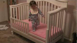 Good Bye Crib.  Hello Toddler Bed.