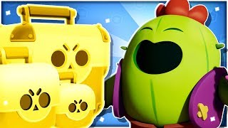 New Spike Brawl Box Opening Challenge / Mini Game! - Showdown Gameplay! - Brawl Stars