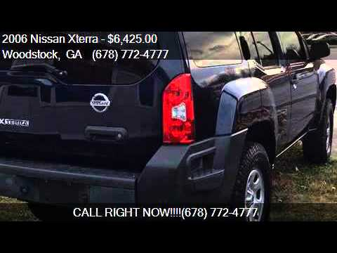 2006 Nissan Xterra Off-Road for sale in Woodstock, GA 30188