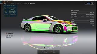 Gran Turismo 5 - RPCS3 TEST (Menu / Intro ONLY)