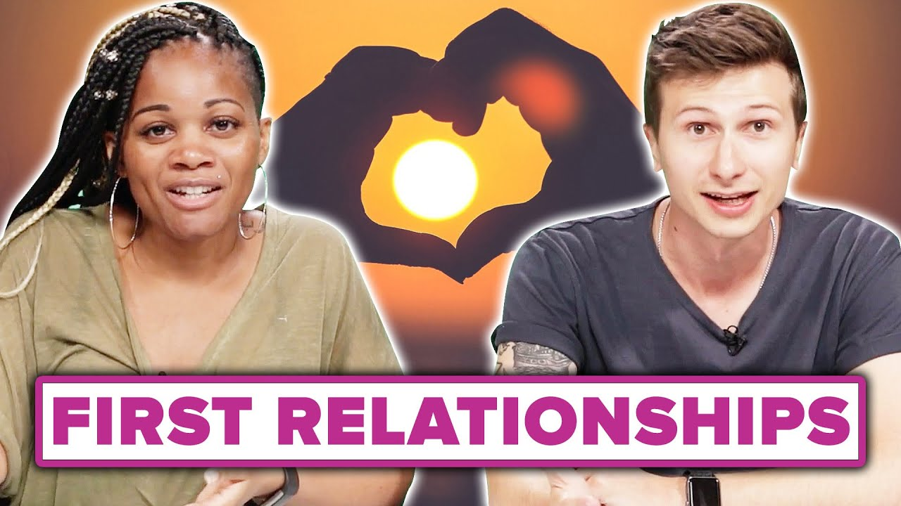 Men and Women Compare Their First Relationship