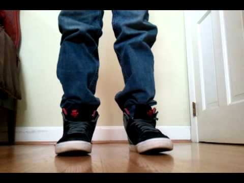 supra vaider black grey red w straight fit jeans youtube rh youtube com