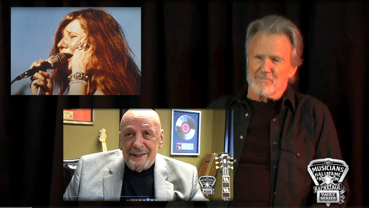"""How Janis Joplin Recorded """"Me & Bobby McGee"""" - Told by Kris Kristofferson and Fred Foster"""