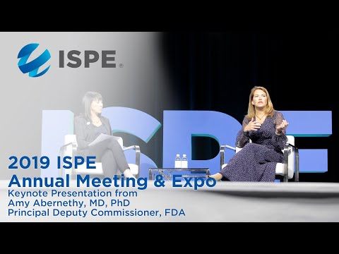 2019 ISPE Annual Meeting & Expo Presentation: Amy Abernethy ...
