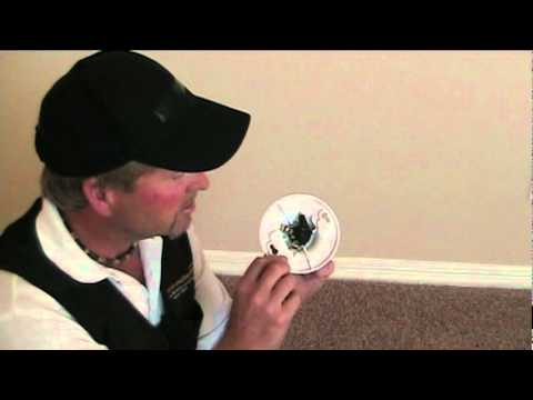 How To Replace A Plastic Pull Chain Light Fixture Youtube