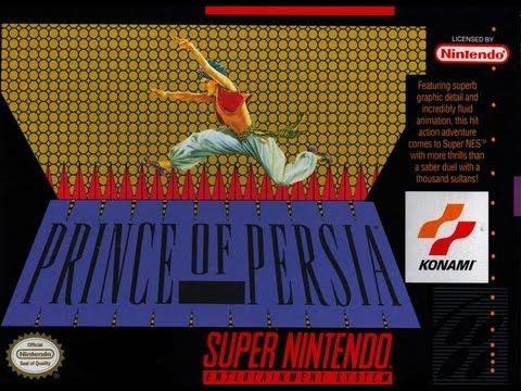 SNES Prince of Persia Video Walkthrough
