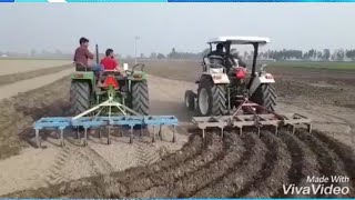 Demo Johndeere vs New Holland 3630