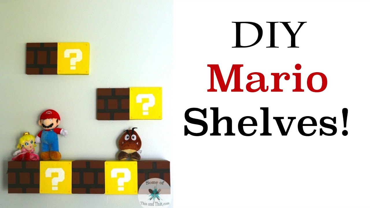 Diy mario shelves nerdy crafts ep7 youtube solutioingenieria Gallery