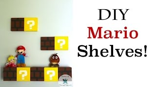 Diy Mario Shelves | Nerdy Crafts | Some Of This And That