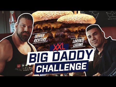 13,000 XNUMX KCAL PLUS GRAND DÉFI BURGER | Le Dutch Giant VS Pro Bodybuilder